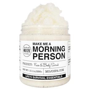 Make Me a Morning Person Face & Body Scrub