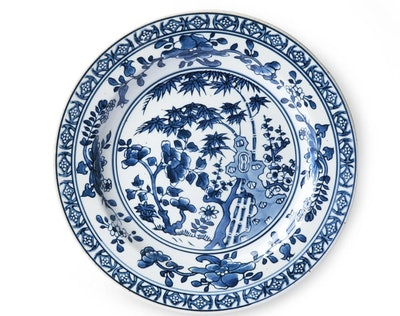 Ceramic Hand-Painted Plate