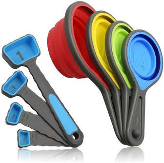 Leepiya Collapsible Measuring Cups and Spoons set