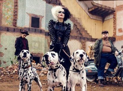 Emma Stone as Cruella de Vil in 'Cruella.'