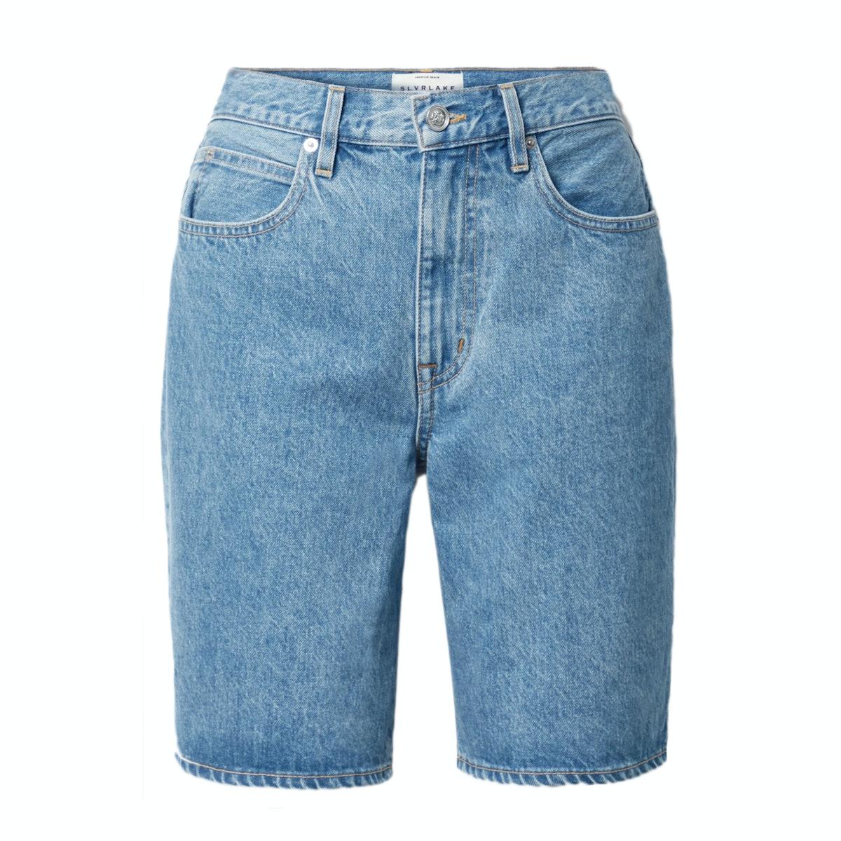 SLVRLAKE London Organic Denim Shorts