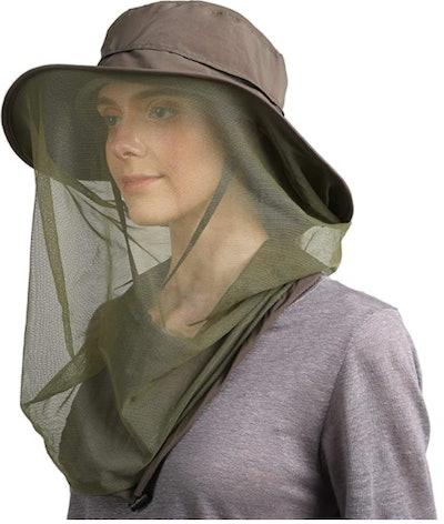 Flammi UPF 50+ Mosquito Net Hat