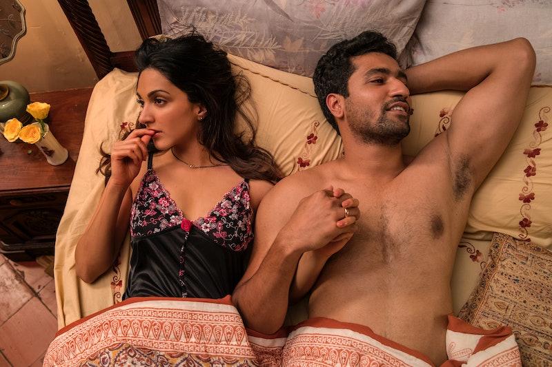 Kiara Advani and Vicky Kaushal star in Netflix's film 'Lust Stories.'
