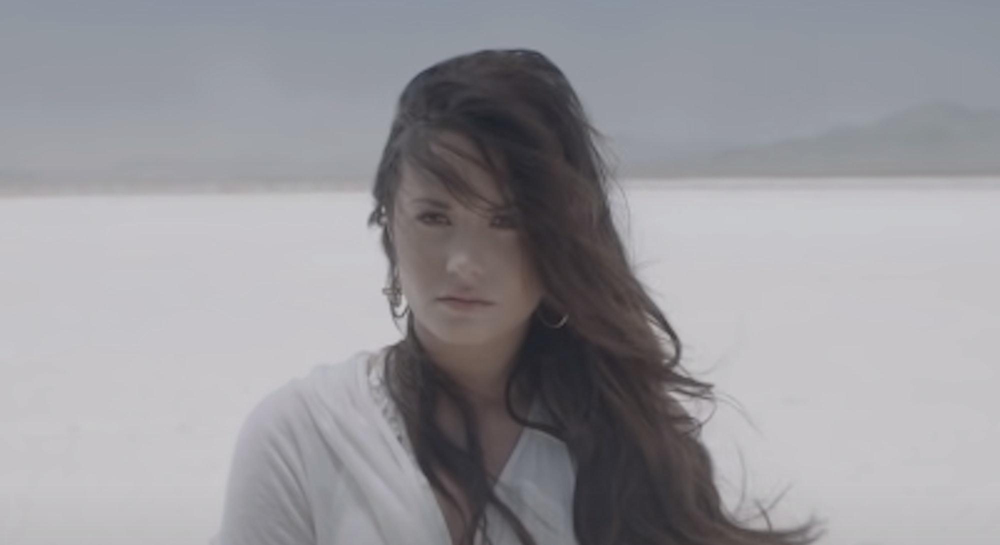 Demi Lovato's music video evolution from rock royalty to honest storyteller.