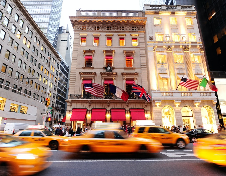 A general view of atmosphere at Cartier & Aldo Cipullo, New York City in the 70s Exhibition Preview & Cocktail Reception at Cartier Mansion on April 12, 2012 in New York City.