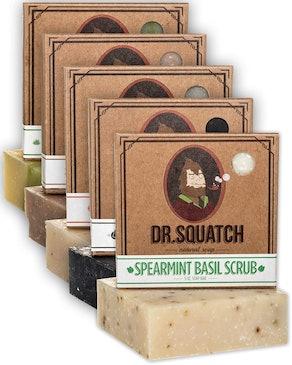 Dr. Squatch Men's Soap (5-Pack)