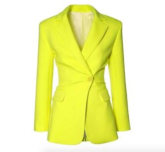 Isabella Laser Yellow Blazer