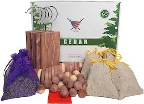 Armour Shell Cedar Sachets (65-Pack)