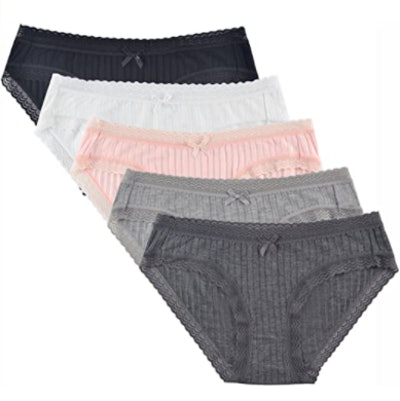 Knitlord Bamboo Lace Underwear (5-Pack)