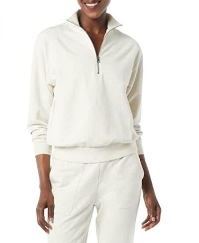 Daily Ritual Terry Cotton & Modal Sweatshirt