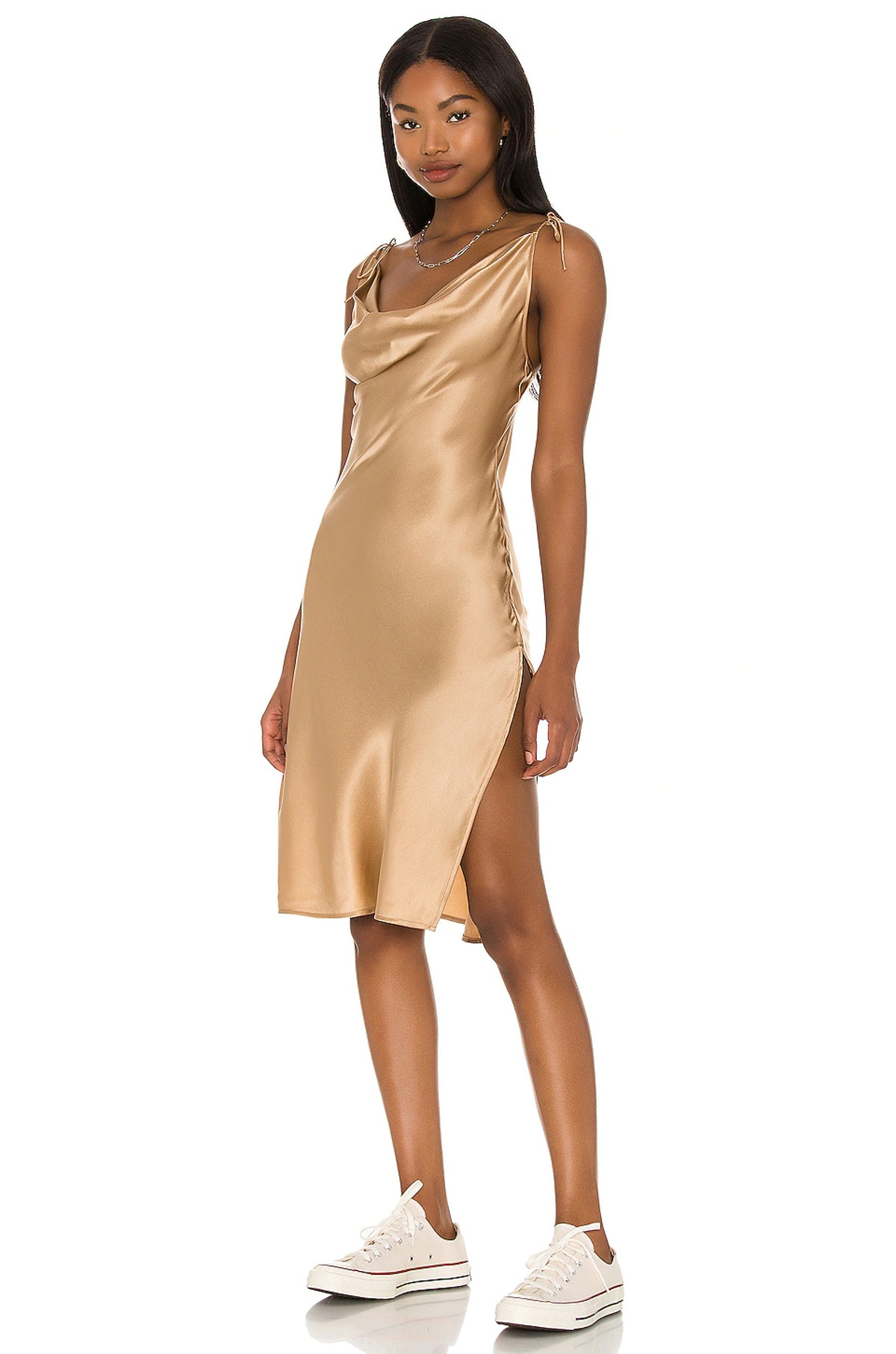 Doll Face Silk Dress