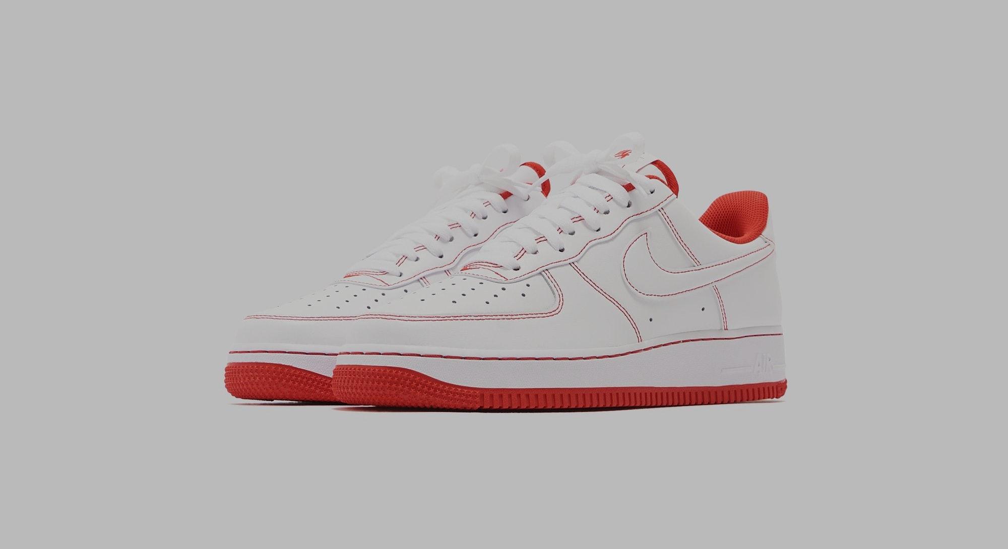 Nike Air Force 1 Stitch
