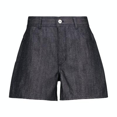 Jil Sander High Rise Denim Shorts
