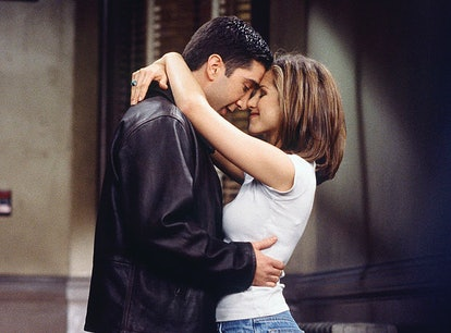 The actors who played Ross and Rachel from Friends liked each other in real life.
