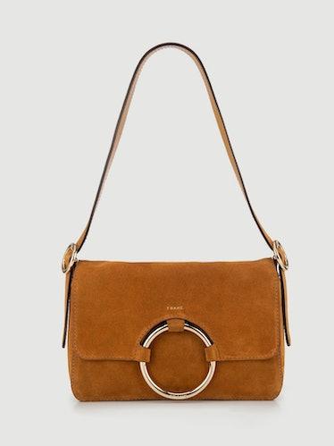 Le Ring Baguette Bag in Cognac