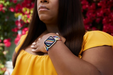 Apple Watch Pride 2021 bands and faces include woven options and a Nike version.