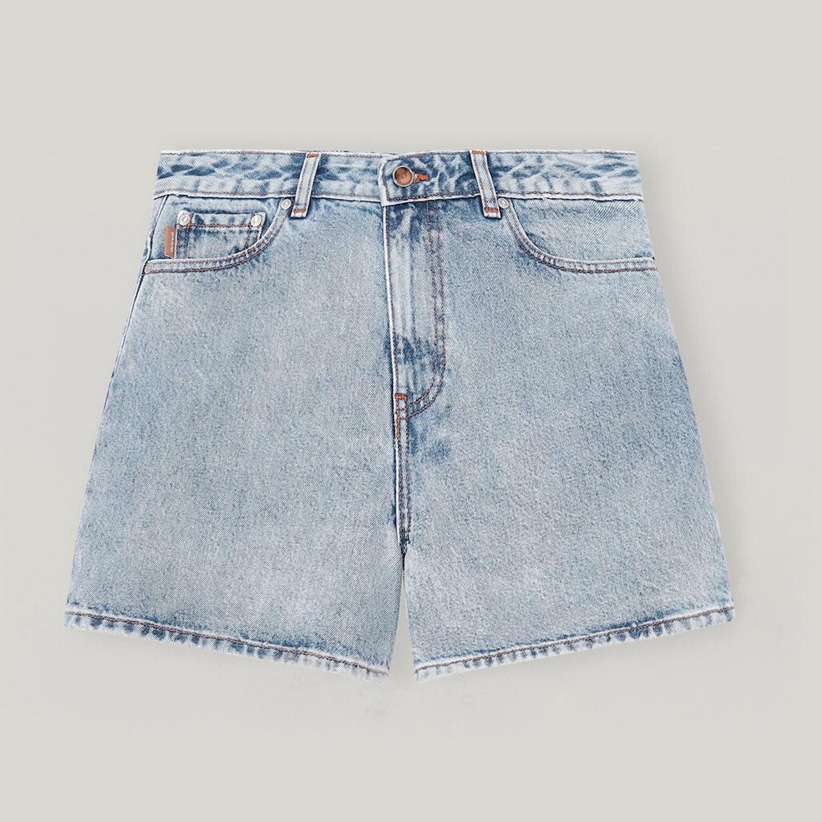 Ganni Classic Denim Shorts