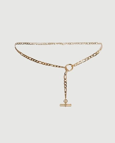 Chain Belt in Gold