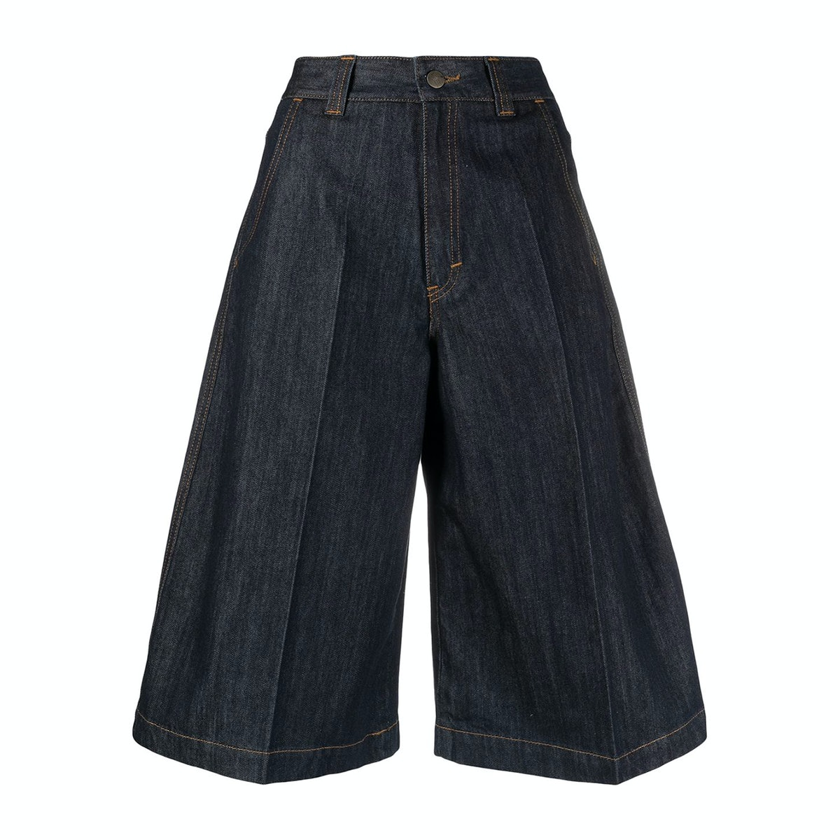 Société Anonyme  High-Waisted Denim shorts