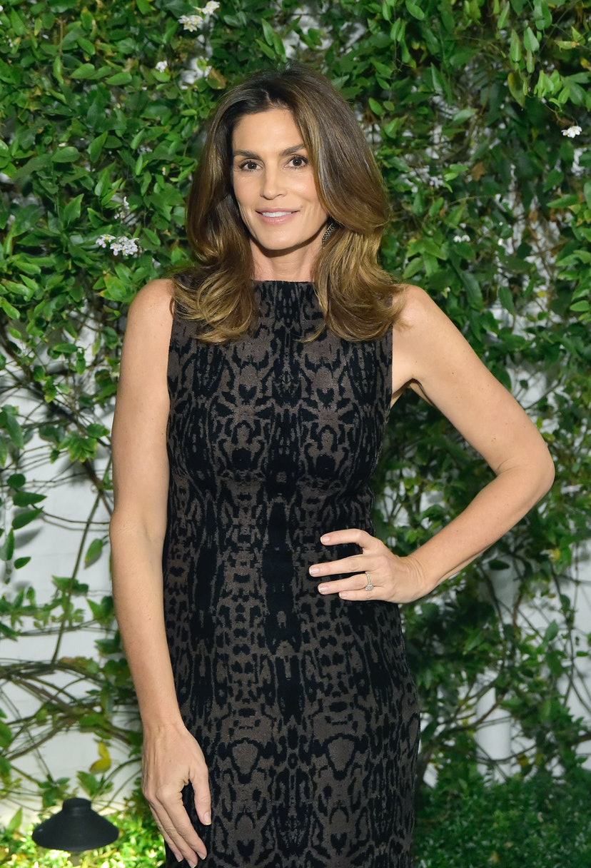 Cindy Crawford attends A Sense Of Home's First Ever Annual Gala - The Backyard Bowl at a Private Residence on November 01, 2019 in Beverly Hills, California.