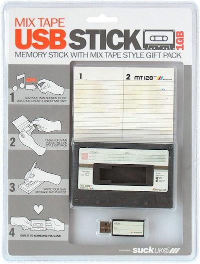 Suck UK Mix Tape Memory Stick