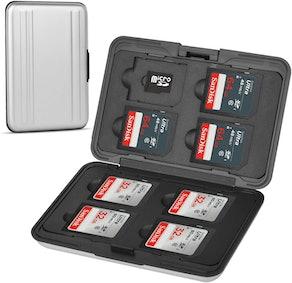 Qkenvo Aluminum Memory Card Storage Box