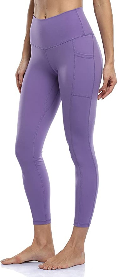 Colorfulkoala Women's High Waisted 7/8 Leggings with Pockets