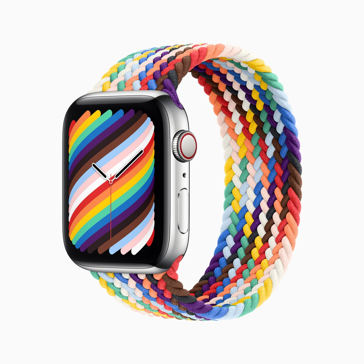 Pride Edition Braided Solo Loop For Apple Watch