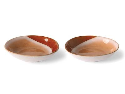 '70s Ceramics: Curry Bowls, Set Of 2