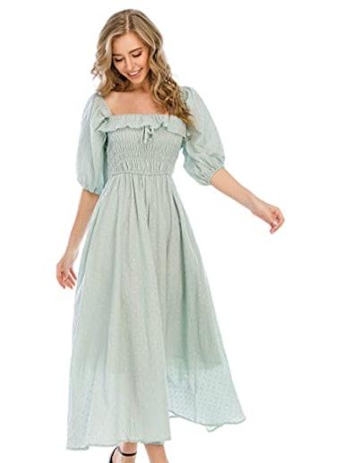 R.Vivimos Vintage Flowy Dress
