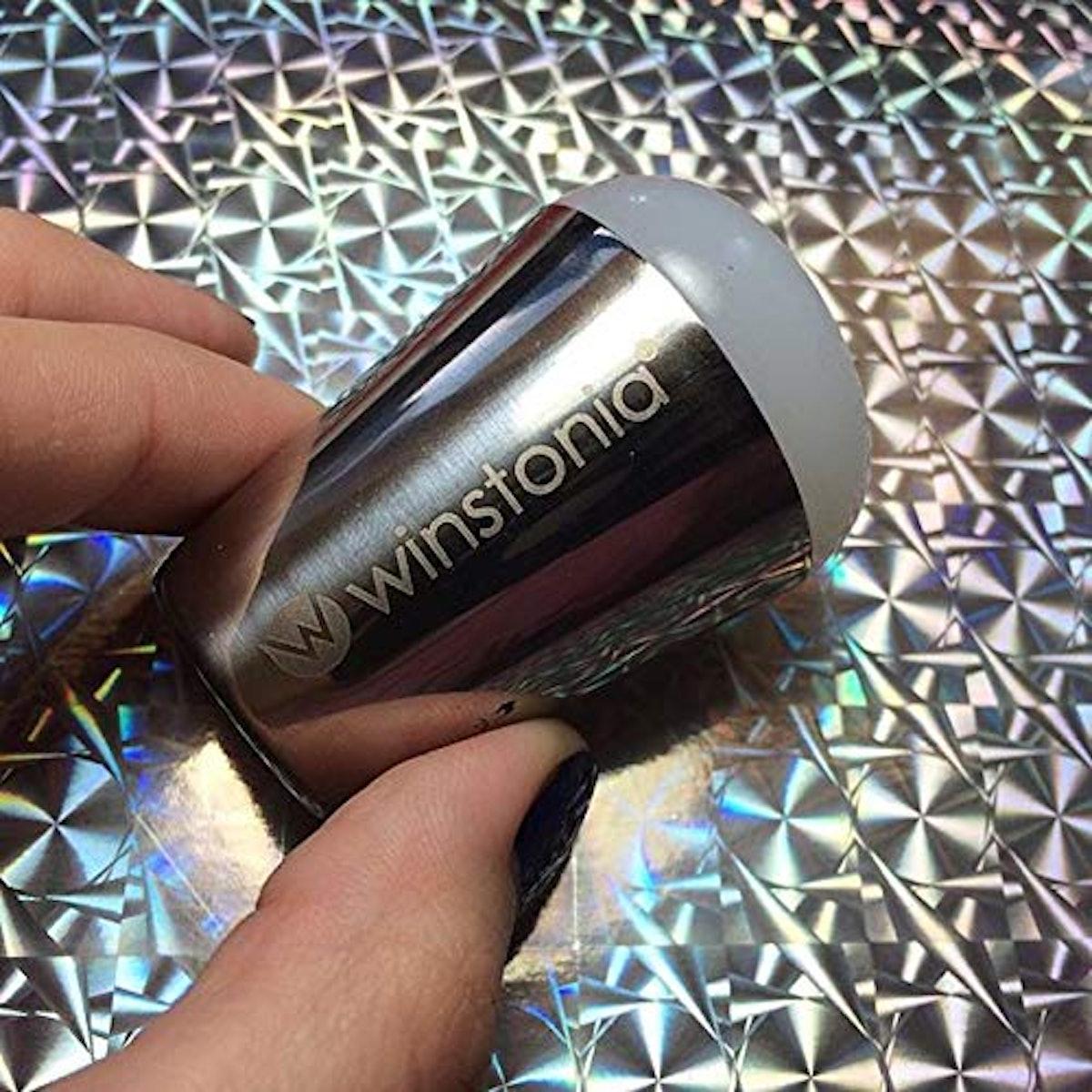 Winstonia Nail Art Stamper, Jumbo Size