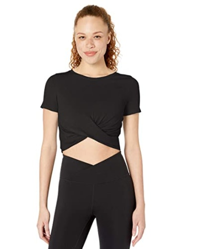 Core 10 Front Knot Yoga T-Shirt