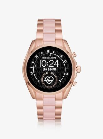 Gen 5 Bradshaw Rose Gold-Tone and Acetate Smartwatch