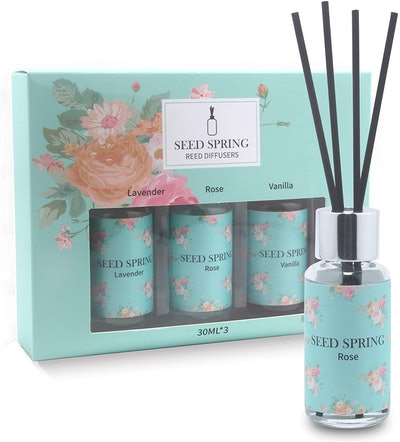 Seed Spring Reed Diffusers (Set of 3)