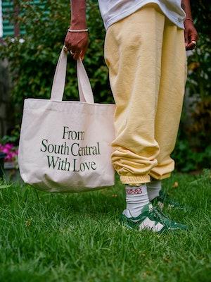 Bricks & Wood New Balance Tote Bag