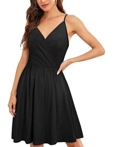 VOTEPRETTY V-Neck Surplice Dress