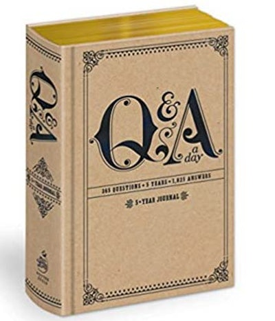 Potter Gift Q&A A Day: 5-Year Journal