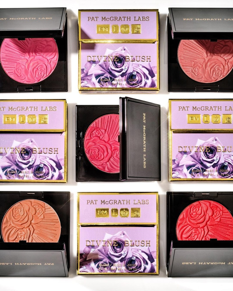 Pat McGrath Labs new divine blushes on a white background