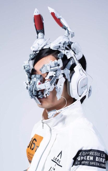 Art by Ikeuchi Hiroto. Cyberpunk. Product design. Anime. Design.