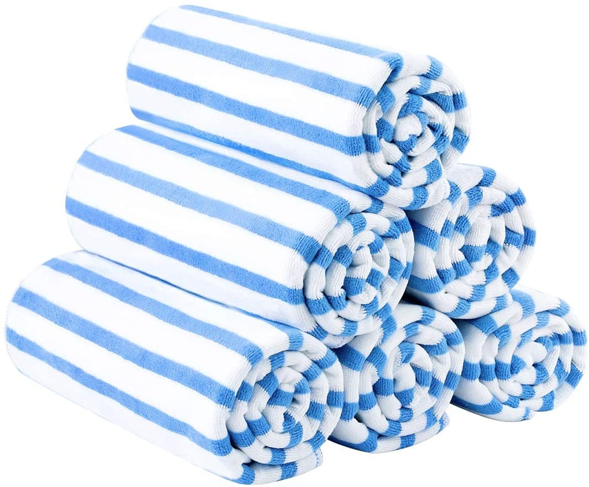 JML Microfiber Towels, 6-Piece Set