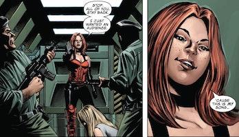 Sin in the Marvel comics