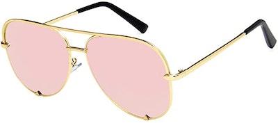 SORVINO Oversized Aviator Sunglasses
