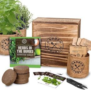 Indoor Republic Herb Garden Kit