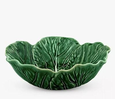 Bordallo Pinheiro Cabbage Serving Bowl