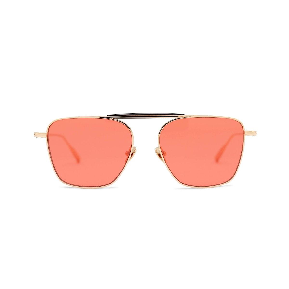 BENJAMIN Rose Gold Sunglasses
