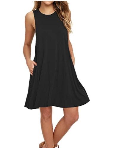 AUSELILY T-Shirt Dress