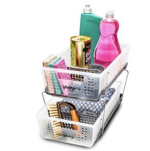 madesmart 2-Tier Under-Sink Organizer