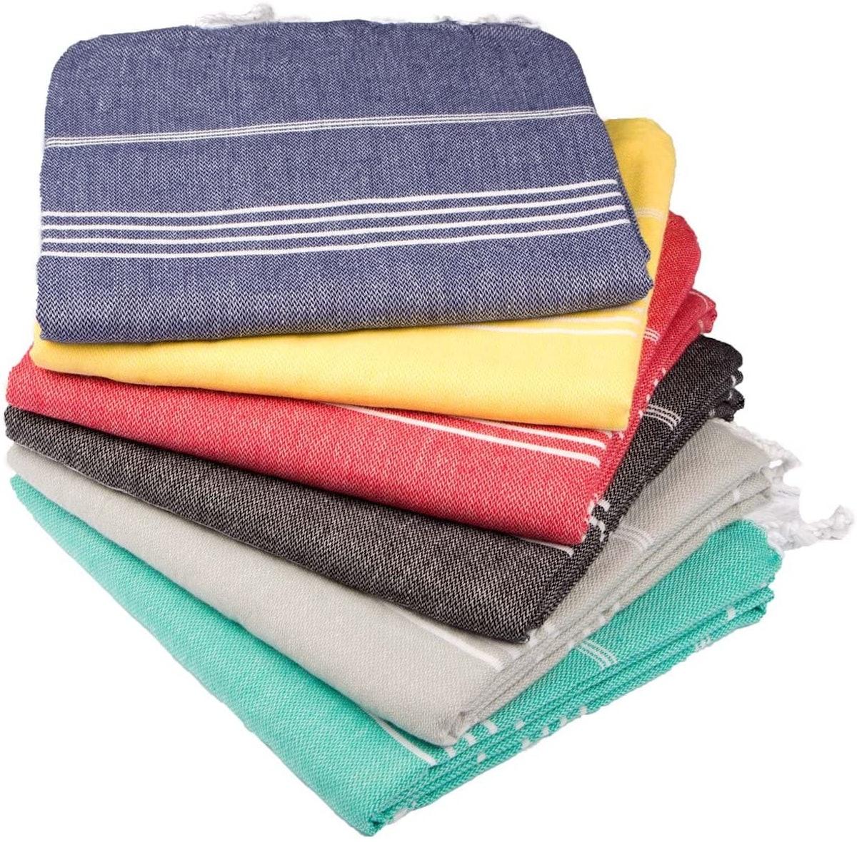 Clotho Turkish Towels, 6-Piece Set