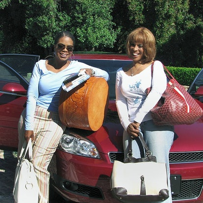Oprah Winfrey and Gayle King best friends embark on a trip together as best friends.