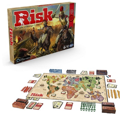 Hasbro Gaming Risk Game with Dragon